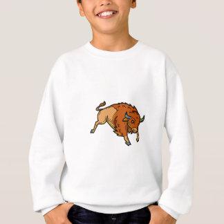 American Buffalo Jumping Mono Line Sweatshirt