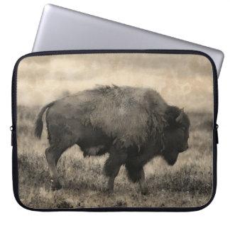American Buffalo  -  Plains Bison Laptop Sleeve