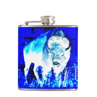 American buffalo Posterization Flasks