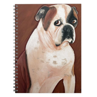 American Bull Dog Notebook