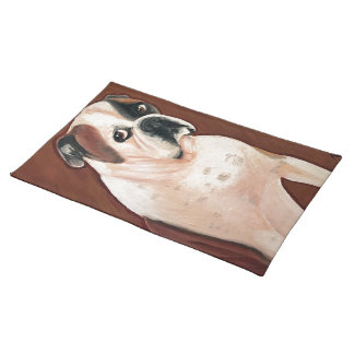 American Bull Dog Placemat