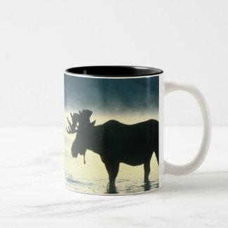 American Bull Moose Two-Tone Coffee Mug
