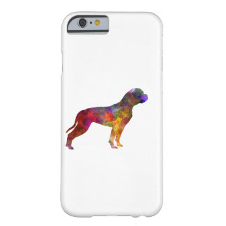 American Bulldog 01 in watercolor 2 Barely There iPhone 6 Case