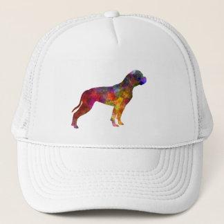 American Bulldog 01 in watercolor 2 Trucker Hat