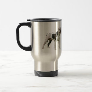 American Bulldog - Brown-White Coffee Mug
