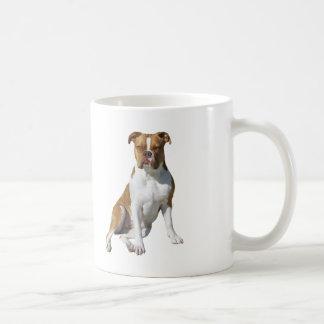 American Bulldog - Brown-White Mug