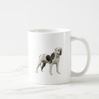 American Bulldog - Brown-White Mugs