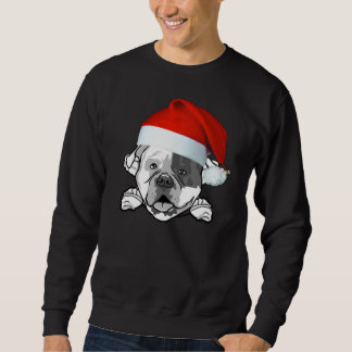 American Bulldog Christmas Sweatshirt