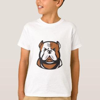 American Bulldog Head Front Retro T-Shirt