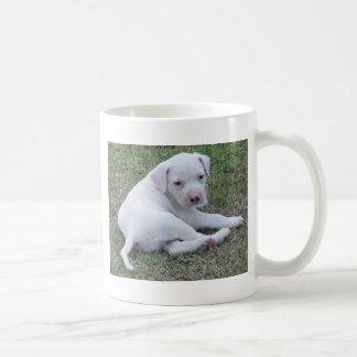 American Bulldog puppy Mug