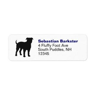 American Bulldog Return Address Label