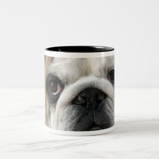 American Bulldog Two-Tone Coffee Mug