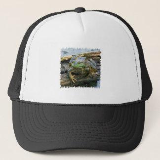 American Bullfrog Logo Trucker Hat