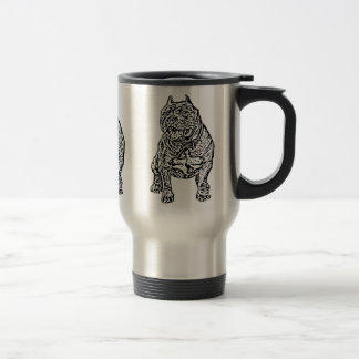 American Bully Dog Travel Mug