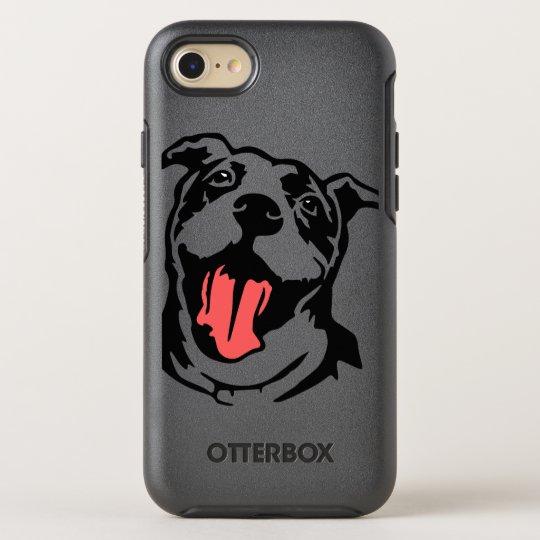 American bully/pitbull OtterBox symmetry iPhone 7 case