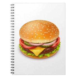 American Burger Notebook