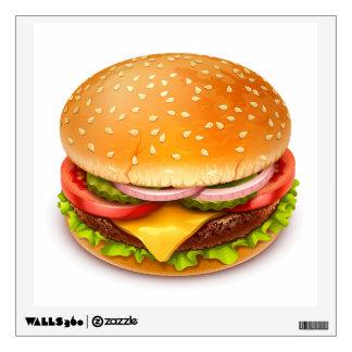 American Burger Wall Decal