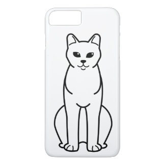 American Burmese Cat Cartoon iPhone 7 Plus Case