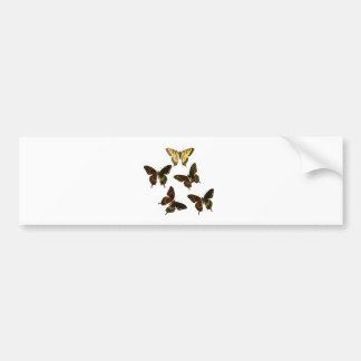 American Butterflies Bumper Sticker