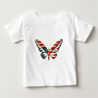 American Butterfly Baby T-Shirt