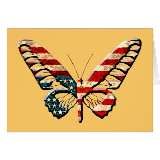 American Butterfly Greeting Card