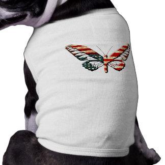 American Butterfly Pet T-shirt