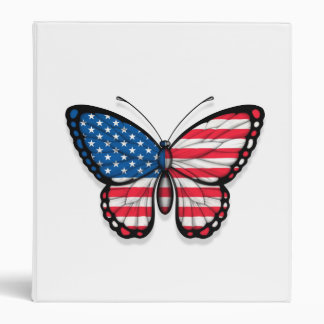 American Butterfly Flag Binder