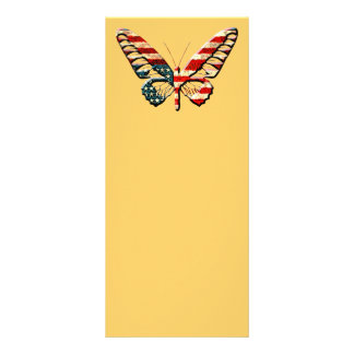 American Butterfly Full Color Rack Card