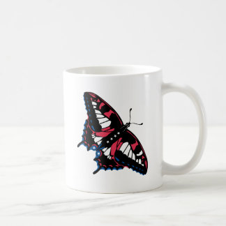 American Butterfly Coffee Mugs