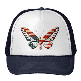 American Butterfly Trucker Hat