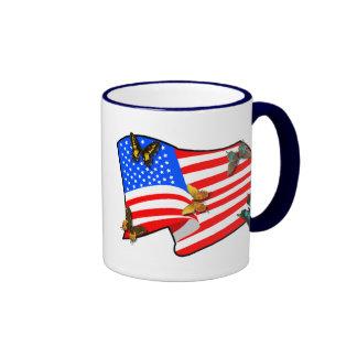 American Butterflys Mug