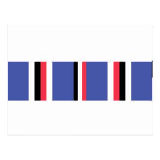 American Campaign Ribbon Postcard