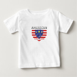 American Captain Kid XN8 Baby T-Shirt
