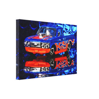 American Car - Photoworks Jean Louis Glineur Canvas Print
