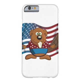American cartoon beaver barely there iPhone 6 case