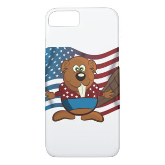 American cartoon beaver iPhone 7 case