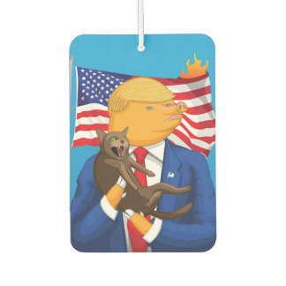 American Catastrophe Car Air Freshener