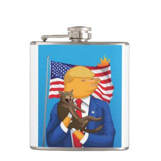 American Catastrophe Flask