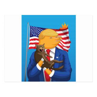 American Catastrophe Postcard