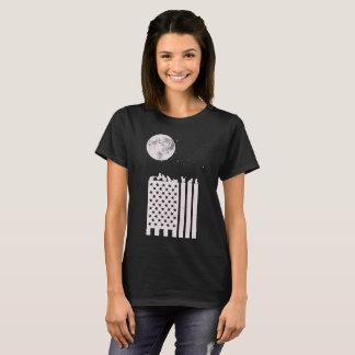 American Cats in Moonlight T-Shirt