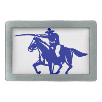 American Cavalry Charging Retro Belt Buckle