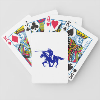 American Cavalry Charging Retro Bicycle Playing Cards