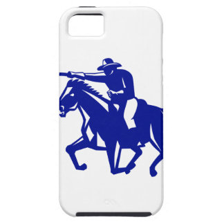 American Cavalry Charging Retro Case For The iPhone 5