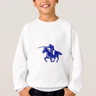 American Cavalry Charging Retro Sweatshirt