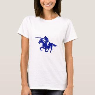 American Cavalry Charging Retro T-Shirt