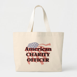 American Charity Officer Jumbo Tote Bag