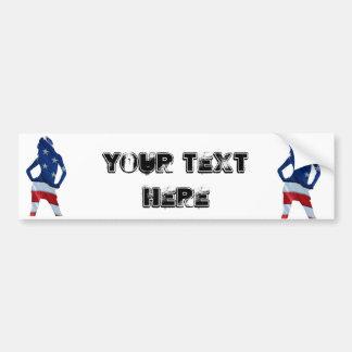 american cheerleader bumper sticker