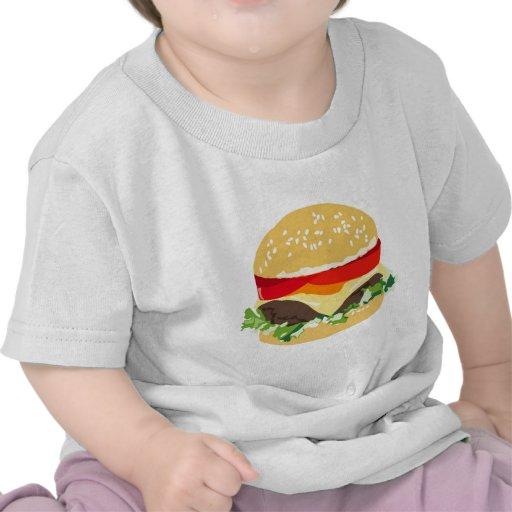 American cheeseburger tee shirts