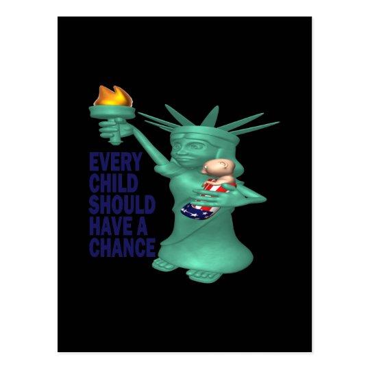 American Child Postcard