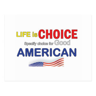 American Choice Postcard